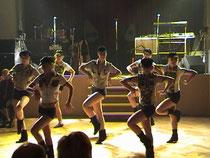 Let´s dance beim Auftritt in Mölkau