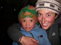 Enfant népalais au sourire d'ange (nov 2005)