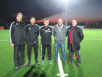 Von links: Uwe Wisser, Michael Binder, Helmut Fuhr, Stephan Schwarz, Udo Krohm