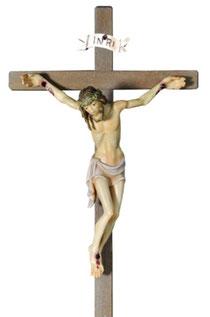 Bild Passionskrippe Jesus am Kreuz Nr. 13xx12 aus Ahornholz geschnitzt