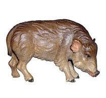 Bild Wildschwein Keiler Nr. 1063 aus Ahornholz geschnitzt