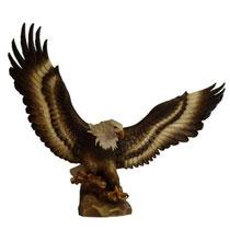 Bild Adler Nr. 1130 aus Ahornholz geschnitzt