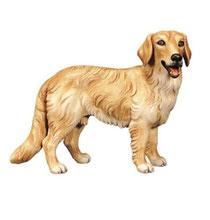 Bild Hund Goldenredriever Nr. 1029 aus Ahornholz geschnitzt
