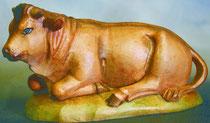 Bild Holzfigur Ochse Nr. 910 handgeschnitzt