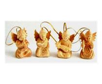 Bild Baumschmuck Engel aus Holz