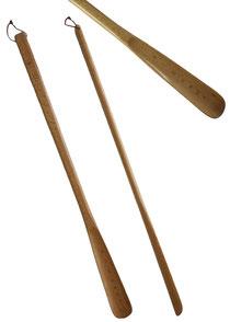 Bild Schuhanzieher, Schuhlöffel extra lang aus Holz