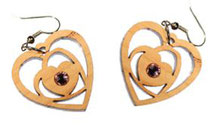 Bild Ringe Nr. 1,2,3,4 aus Holz