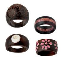 Bild Ringe 5,6,7,8 aus Holz