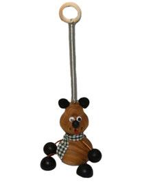 Bild Schwingfigur Bär aus Holz