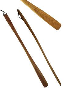 Bild Schuhlöffel, Schuhanzieher extra lang Holz