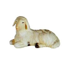 Bild Krippenfigur Thomas modern Schaf liegend aus Ahornholz geschnitzt