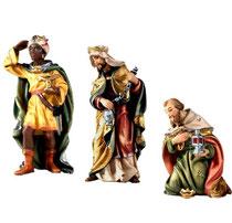 Bild Krippenfiguren Joshua Hl. 3 Könige aus Ahornholz geschnitzt