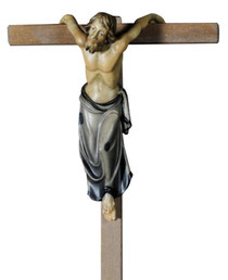 Bild Passionskrippe Schächer rechts Nr. 13xx13 aus Ahornholz geschnitzt