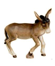 Bild Krippentier Esel aus Ahornholz geschnitzt
