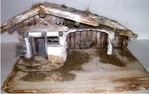 Bild Krippenstall Holz Zillertal