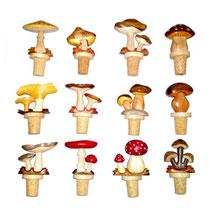 Bild Flaschenkorken Pilze Nr. 714899 aus Holz