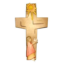 """Bild Kreuz """"Kreuz des Friedens"""" Nr. K200 aus Holz"""