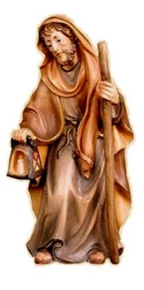 Bild Krippenfigur Thomas Josef orientalisch aus Ahornholz geschnitzt