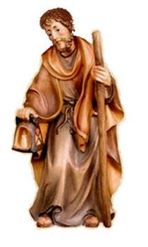 Bild Krippenfigur Thomas Josef aus Ahornholz geschnitzt