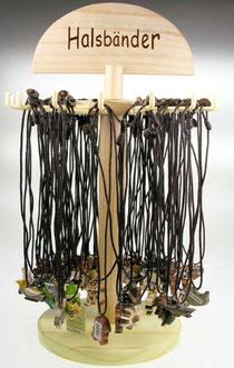 Bild Halsbänder gemischt aus Holz