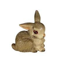 Bild Hase sitzend Nr. 1030 aus Ahornholz geschnitzt