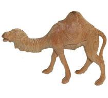 Bild Krippenfigur Kamel handgeschnitzt aus Zirbenholz