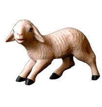 Bild Krippenfigur Mirja Lamm aus Ahornholz geschnitzt