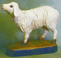 Bild Holzfigur Schaf Nr. 931 handgeschnitzt