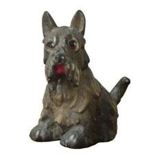 Bild Hund Schnauzer Nr. 1011 aus Ahornholz geschnitzt