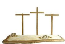 Bild Passionskrippe Landschaft für Kreuzigung