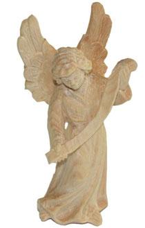 Bild Krippenfigur Gloriaengel handgeschnitzt aus Zirbenholz
