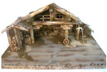 Bild Kippenstall Holz Bauernscheune