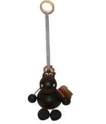 Bild Schwingfigur Pferd dunkel aus Holz