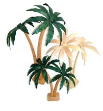 Bild Palmen aus Holz