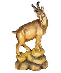 Bild Gams Nr. 1145 aus Ahornholz geschnitzt