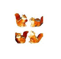 Bild Eichhörnchen Nr. 650374 handgeschnitzt aus Holz