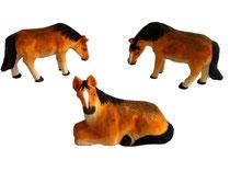 Bild Pferde Nr. BC-40 handgeschnitzt aus Holz