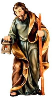 Bild Krippenfigur Joshua Josef aus Ahornholz geschnitzt