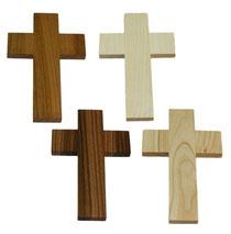 Bild Kreuz einfach Nr. 1 aus Holz