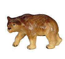 Bild Bär Nr. 1077 aus Ahornholz geschnitzt
