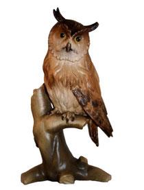 Bild Eule Nr. 6003 aus Ahornholz geschnitzt