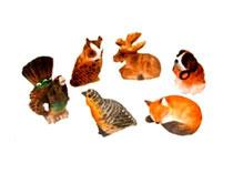 Bilder Tiere gemischt handgeschnitzt Nr. 20091