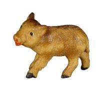 Bild Wildschwein Frischling Nr. 1065 aus Ahornholz geschnitzt