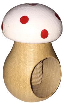 Bild Nussknacker Pilz aus Holz