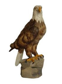 Bild Adler Nr. 1131 aus Ahornholz geschnitzt