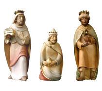 Bild Krippenfiguren Mirja Hl. 3 Könige aus Ahornholz geschnitzt
