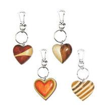 Bild Schlüsselanhänger Herz PHSAH8601 aus Holz