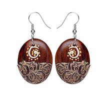 Bild Ohrringe Nr. 2 aus Holz