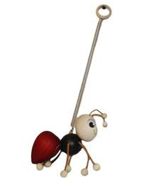Bild Schwingfigur Ameise aus Holz