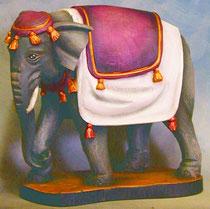 Bild Holzfigur Elefant Nr. 929 handgeschnitzt